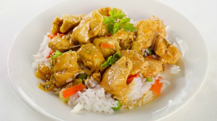 Slow Cooker Healthier Chicken Curry