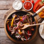 **Slow Cooker Spicy Steak Fajitas